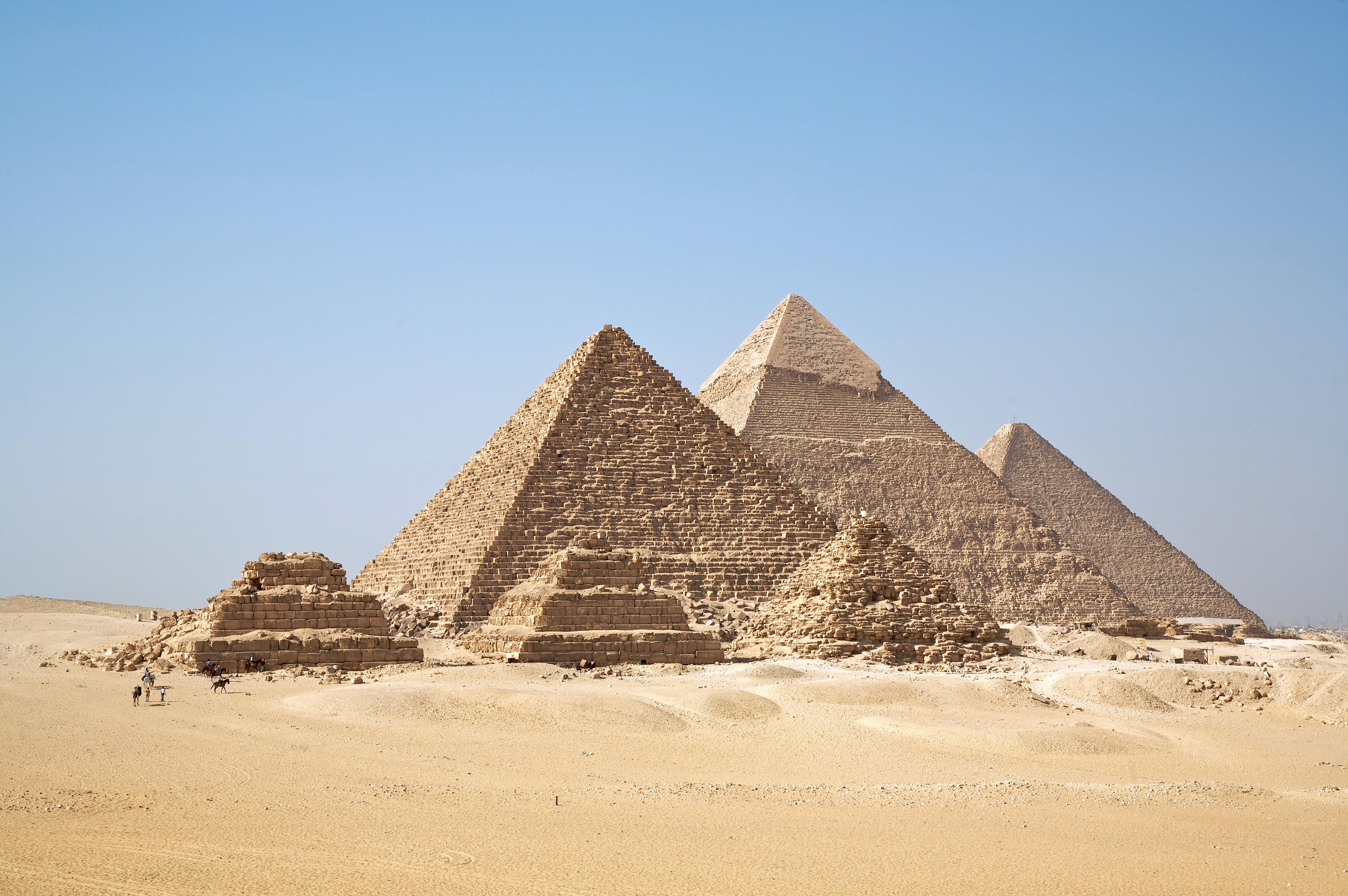 Drawn pyramid egyptian architecture Architecture Egyptian Wikipedia Giza The