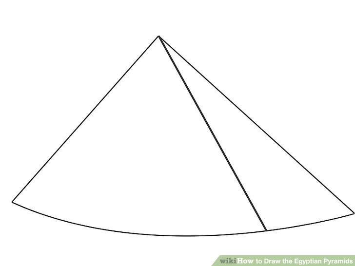 Drawn pyramid egyptian pyramid To Step Draw (with Egyptian