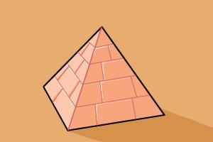 Drawn pyramid egyptian pyramid At to a a Draw