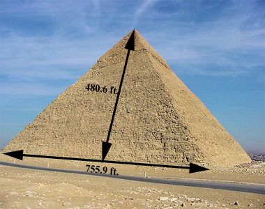 Drawn pyramid egyptian pyramid Giza to place we could