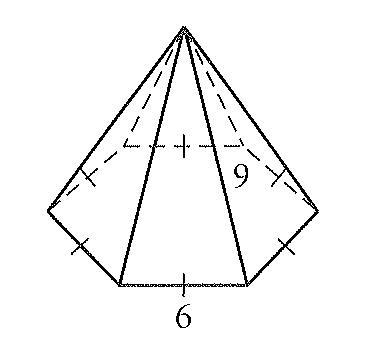 Drawn pyramid hexagon Advertisements Secondary Problem#L2 2010 Blog