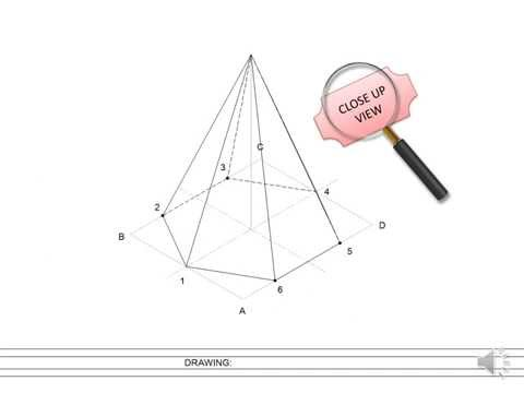 Drawn pyramid hexagon How to a to #0032