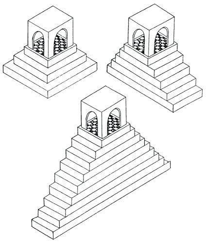 Drawn pyramid impossible Horizontal or climb real with