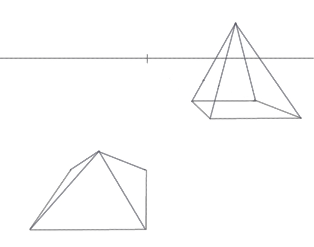Drawn pyramid impossible Impossible To Impossible How 3d