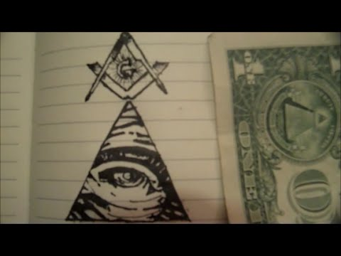 Drawn pyramid masonic Ink A Eye Square and