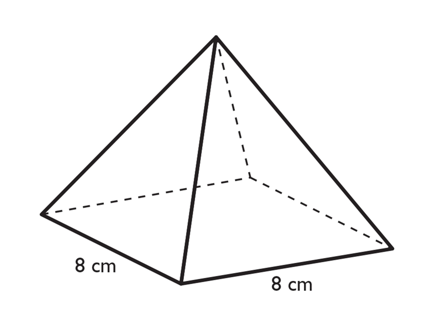 Drawn pyramid mathematical Grade Unit Khafre math OER