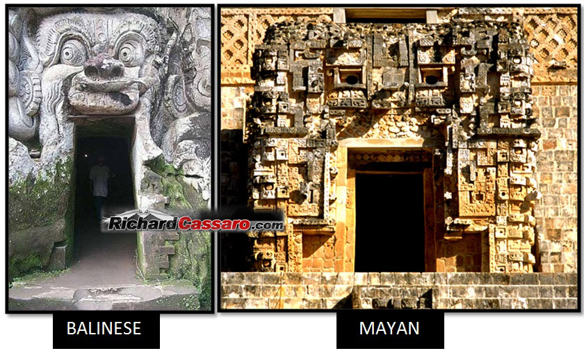 Drawn pyramid maya temple Opposite Cultures Scholars: Suppressed Temples