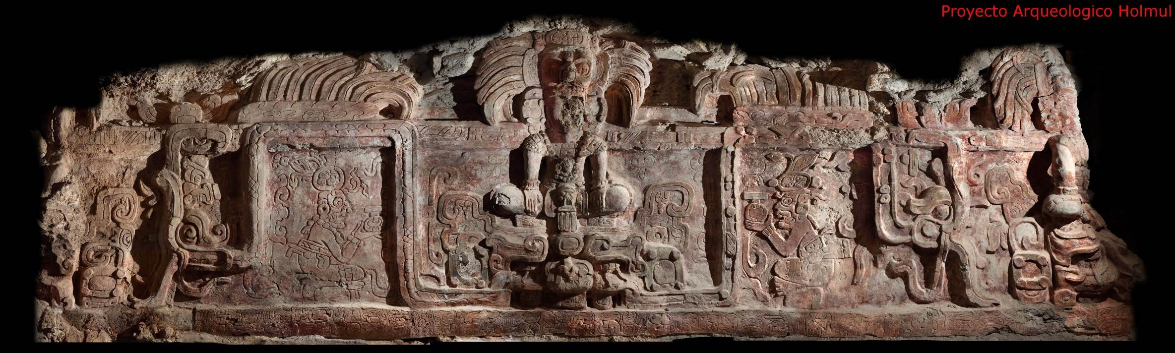 Drawn pyramid maya temple At carvings Inside Image: pyramid