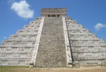Drawn pyramid maya temple Pyramids for of El Maya