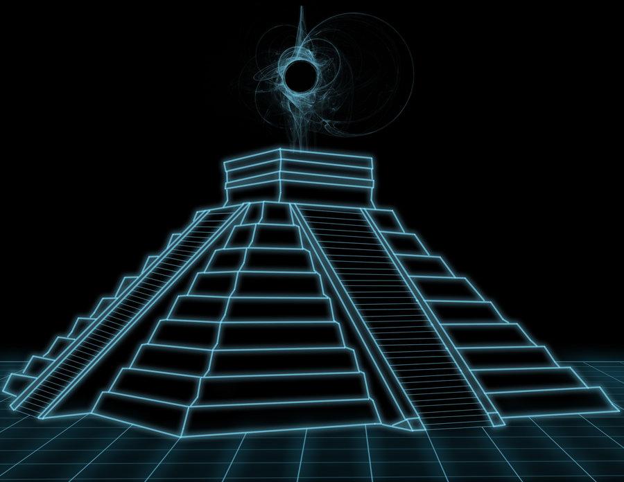 Drawn pyramid mayan pyramid On by by alhrankin Pyramid