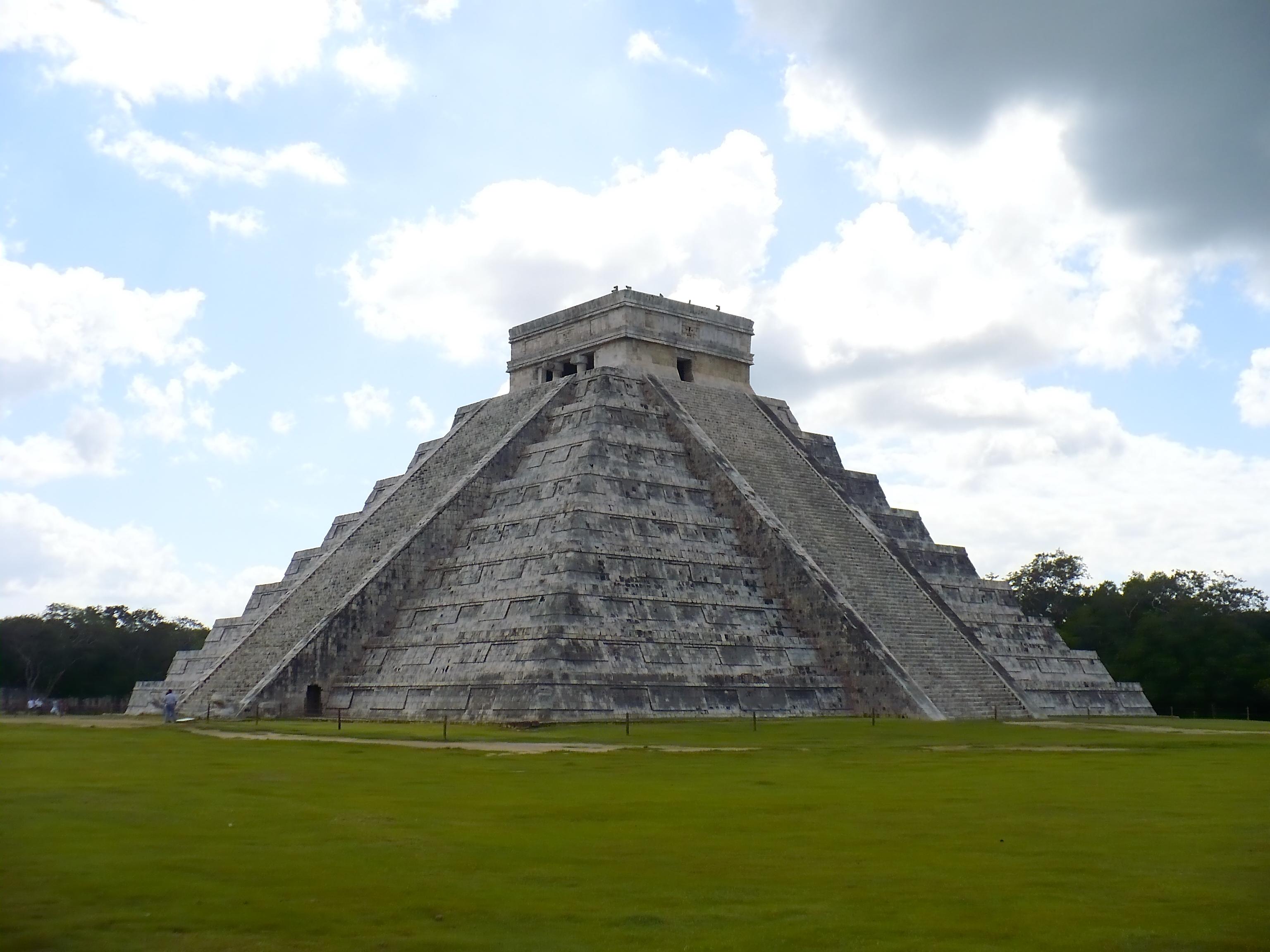 Drawn pyramid mayan pyramid The Did History the Pyramids?