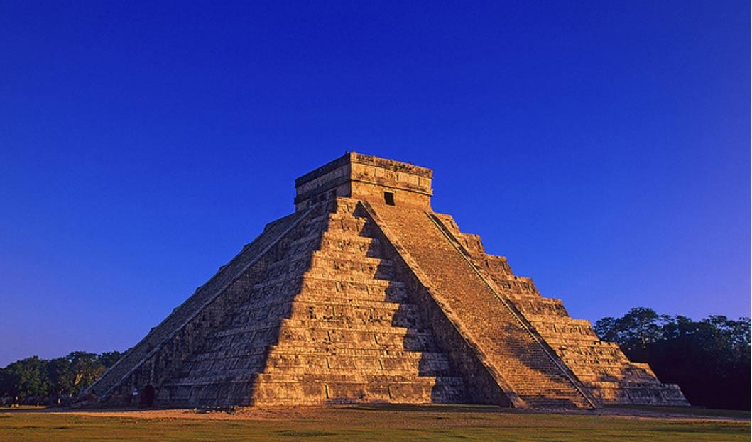 Drawn pyramid mayan pyramid Into  1 Castillo Itza