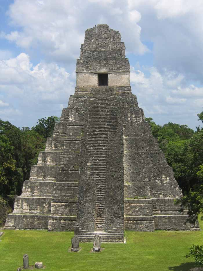 Drawn pyramid mayan temple Pyramids Crystalinks of  Mesoamerica