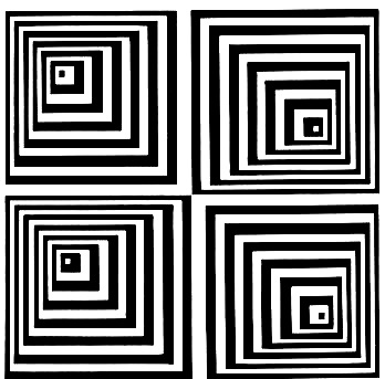 Drawn pyramid optical illusion Optical Illusion http://www http://www White