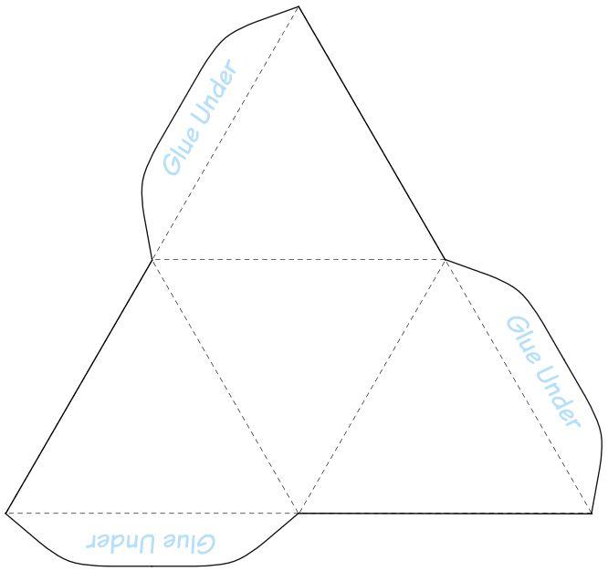 Drawn pyramid outline On template ideas DIY Pinterest
