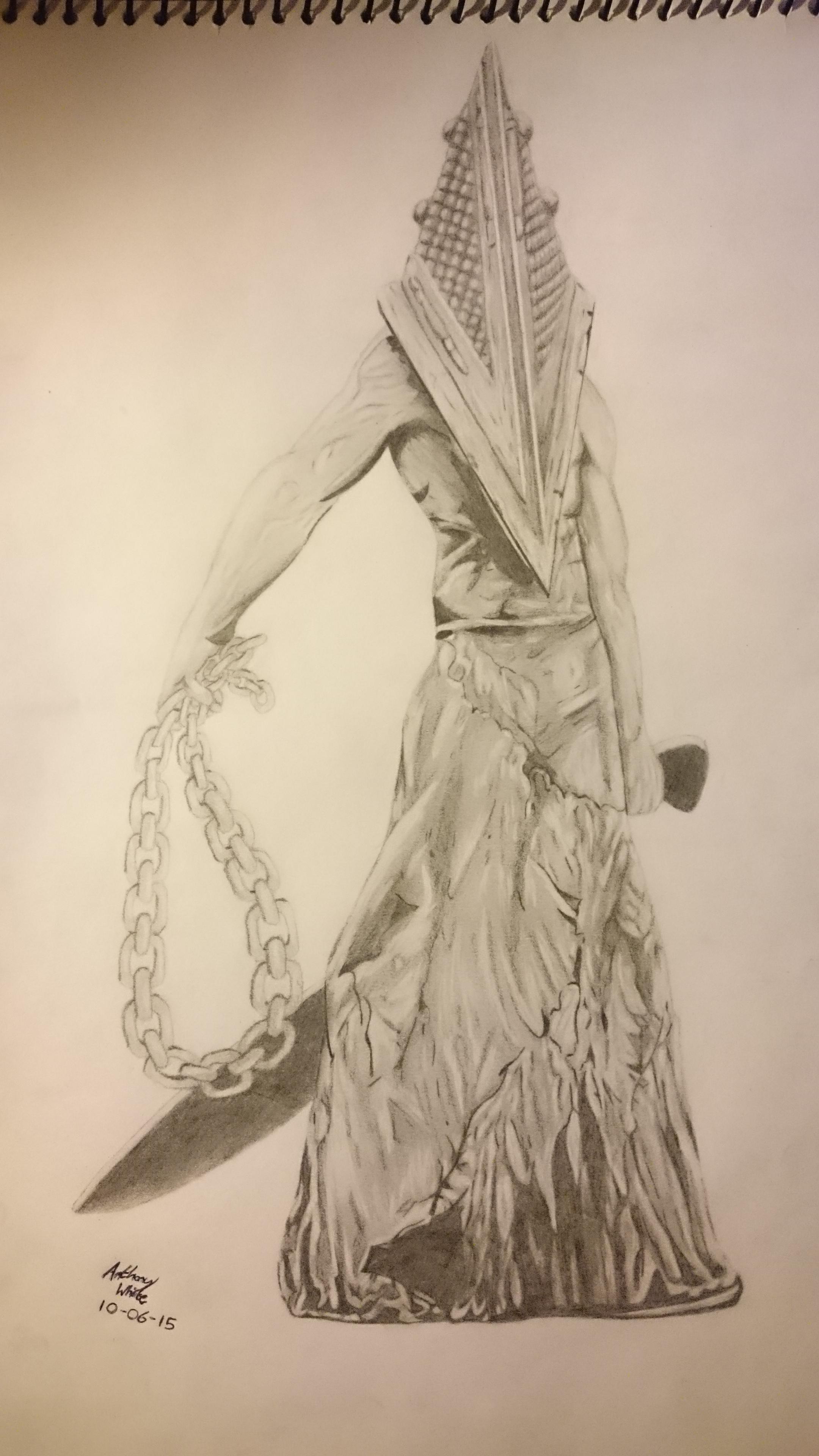 Drawn pyramid pencil Drawings [ Evil Forums Spikeys