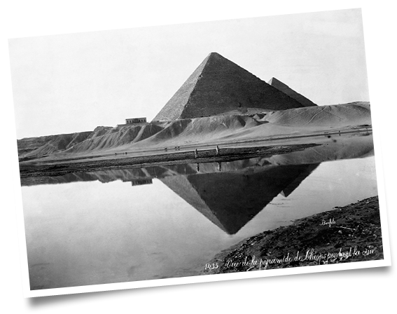 Drawn pyramid pencil A of Decoding The Great