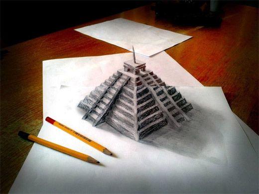 Drawn pyramid pencil A http://www Promo Get visit