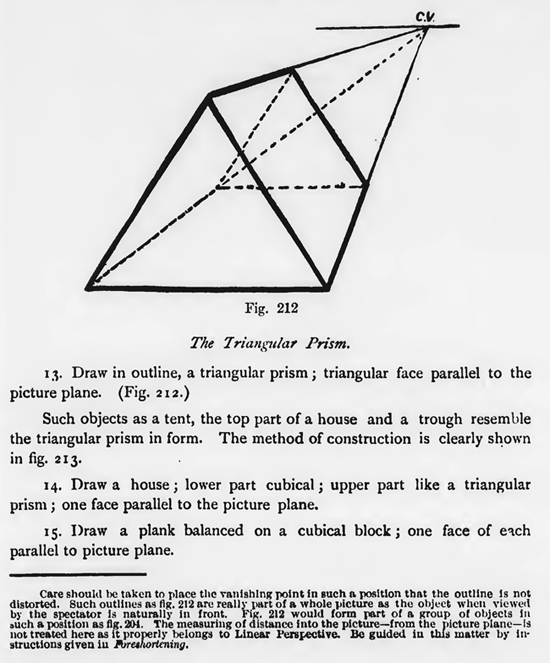 Drawn pyramid prism Guide Prism Lesson An