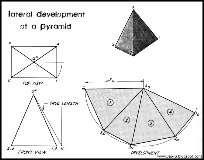 Drawn pyramid rectangular 2010 Jep Development Lateral 05
