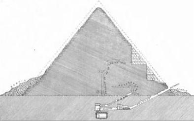 Drawn pyramid regular Menkaure The Feasible pyramid Pyramid
