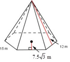 Drawn pyramid regular Out? 1 me surface someone