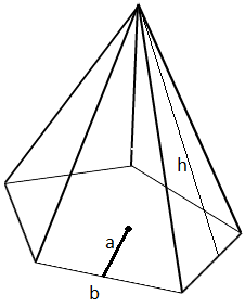 Drawn pyramid right Surface Math@TutorVista Area of Formula