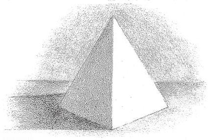 Drawn pyramid shaded Graduations Shaded Adding pyramids to
