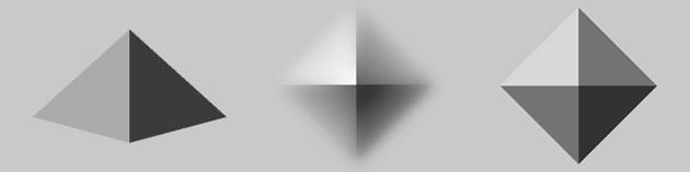Drawn pyramid shaded Uses Disucussion pyramid pyramid Retro
