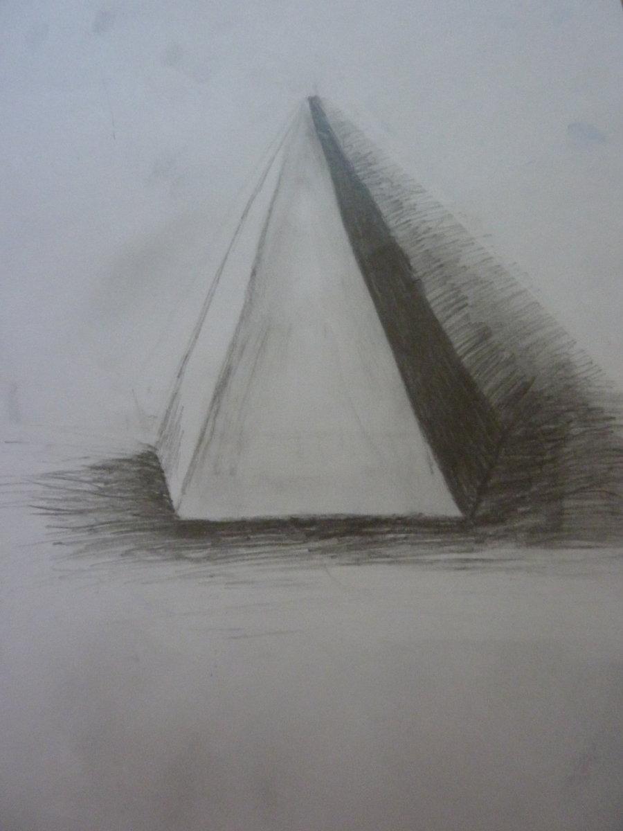 Drawn pyramid shaded DeviantArt on Pyramid LedgerTakahashiX by