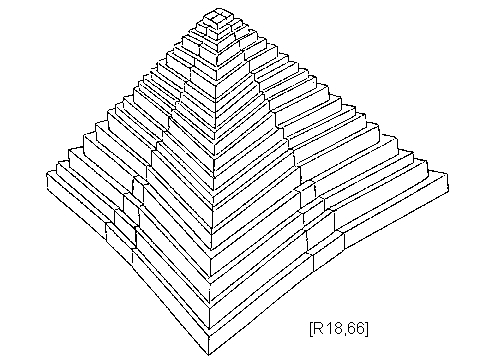 Drawn pyramid sided Of The To Giza Great