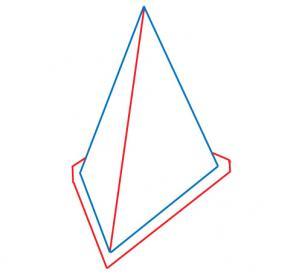 Drawn pyramid simple How Silent pyramid how Step