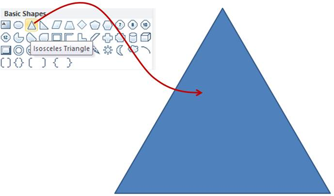Drawn pyramid simple Simple Base Triangle Shape Pyramid