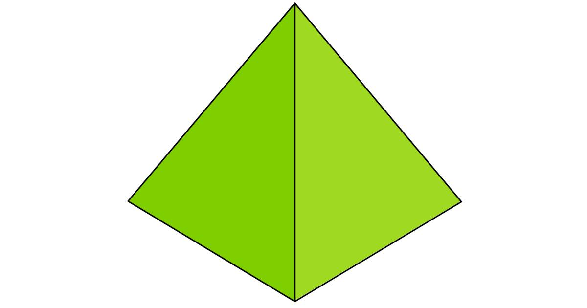 Drawn pyramid square base Facts Out DK Pyramid Find