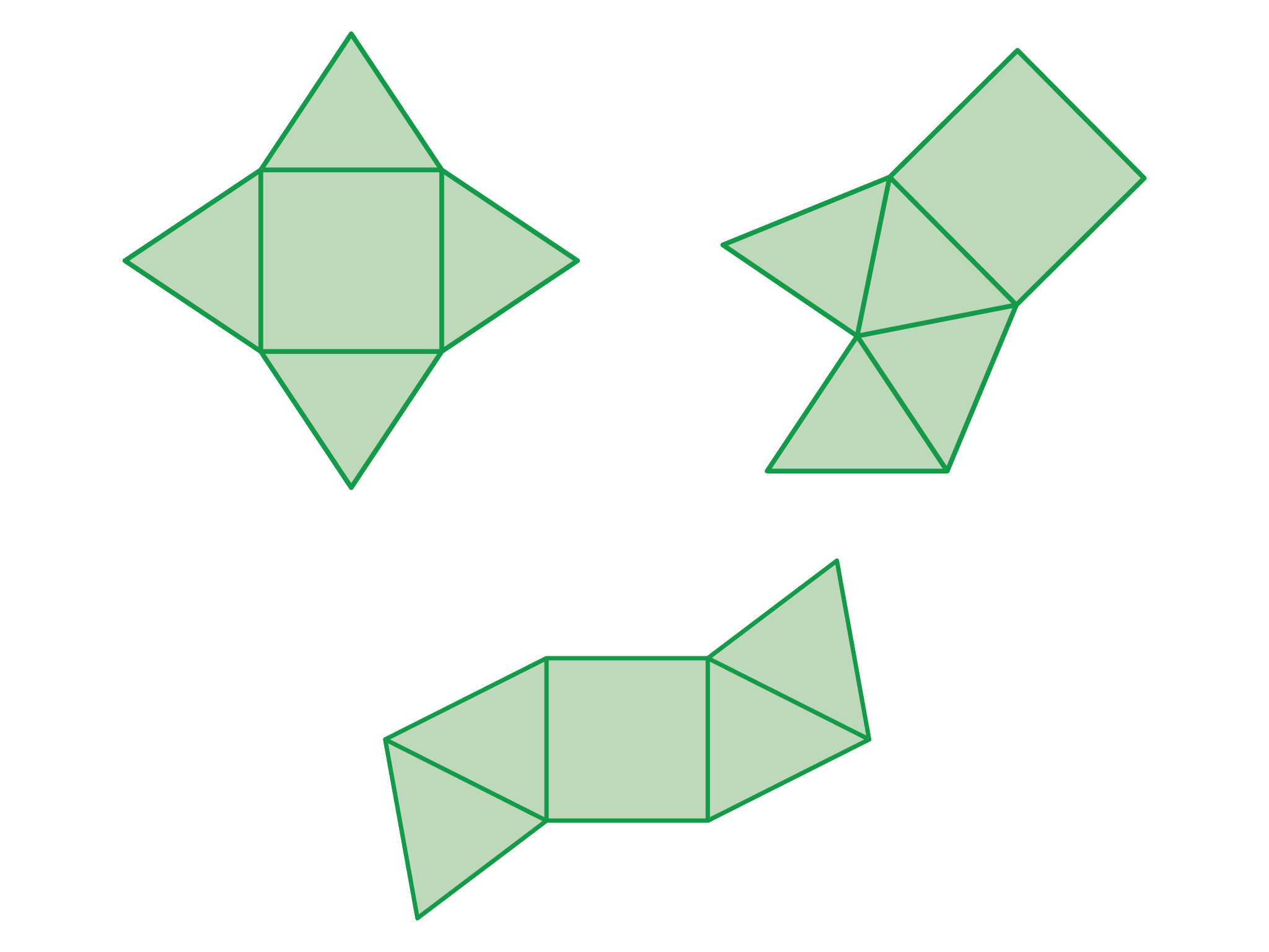 Drawn pyramid square base Most the considering similar Unit