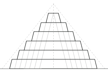 Drawn pyramid step pyramid Anatomy Pyramid mastabas The