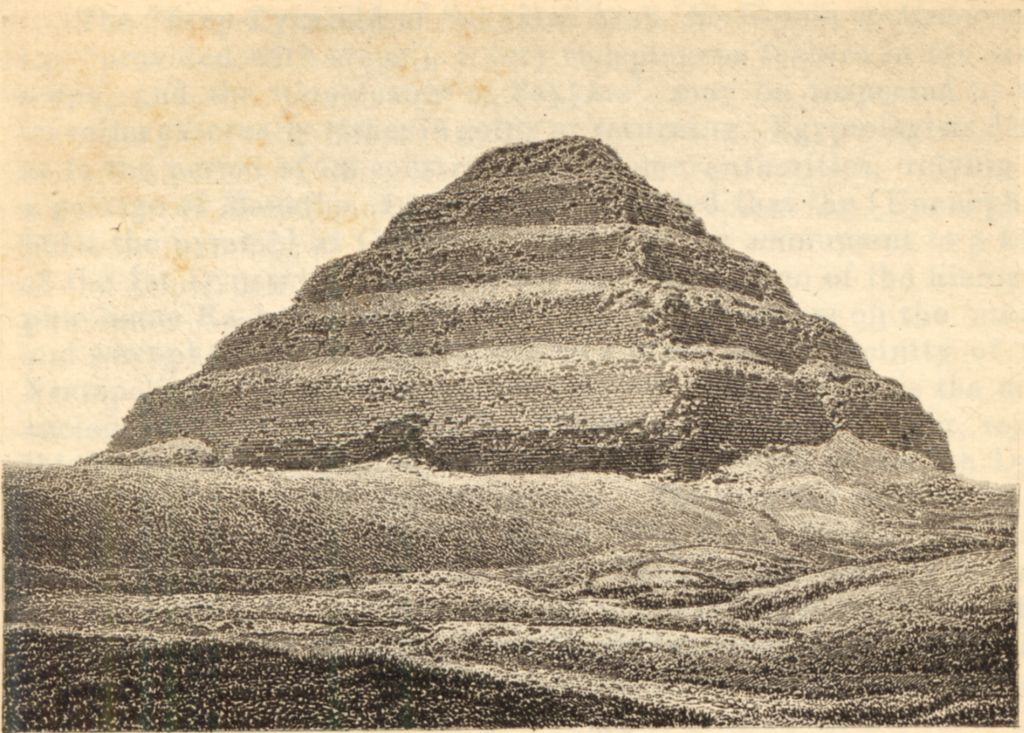 Drawn pyramid step pyramid TIMEA Step the Pyramid