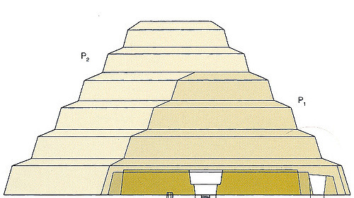 Drawn pyramid step pyramid In Pyramid Step Stages Flickr