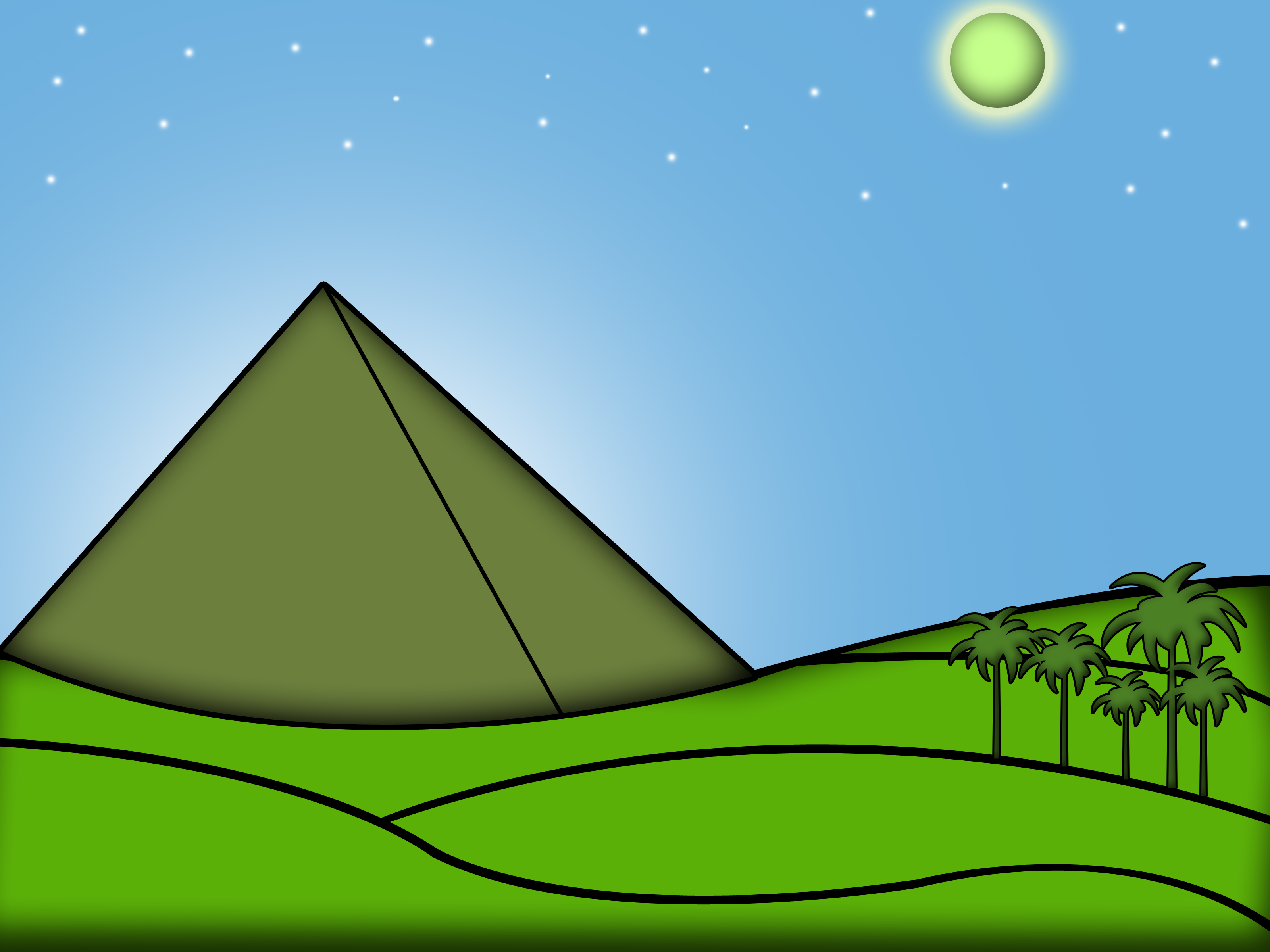 Drawn pyramid three (with Pictures) Pyramids:  the
