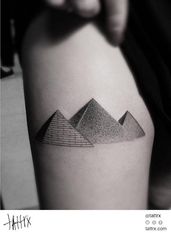 Drawn pyramid three On  Pinterest Pyramid Egyptian