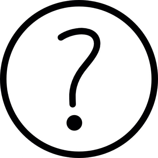 Drawn question mark Free Icon thin mark mark