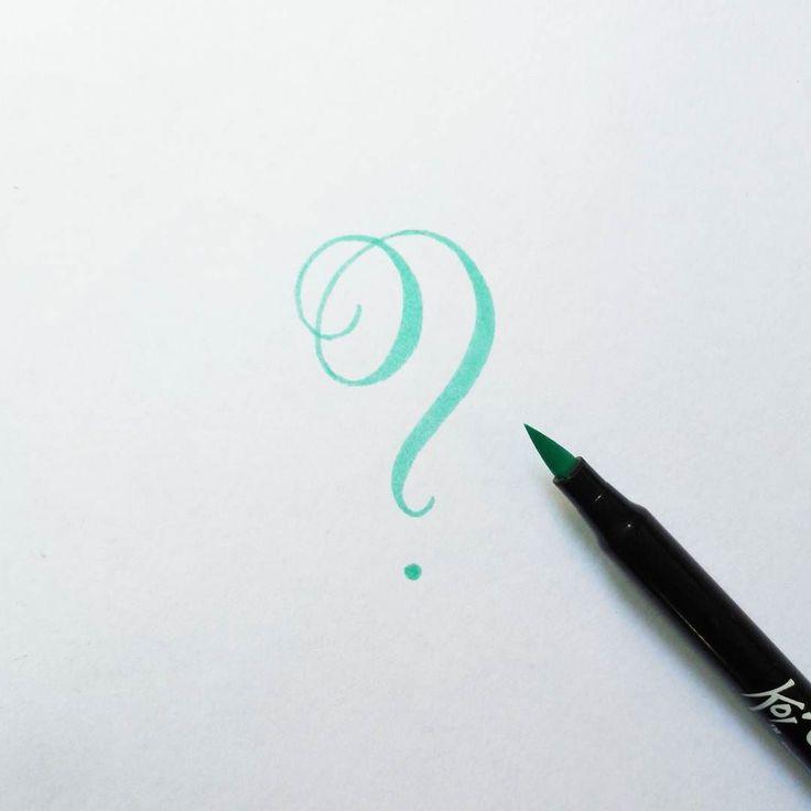 Drawn question mark beautiful question #15