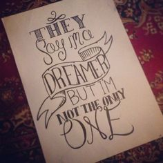 Drawn quote Doodles Inspirational on print 00