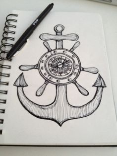 Drawn quote anchor Wheel Google  Compass Rose