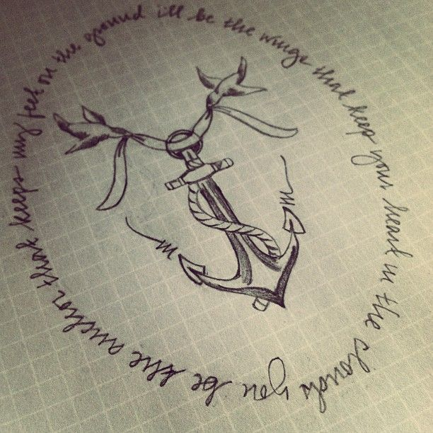 Drawn quote anchor The on quote script Cute