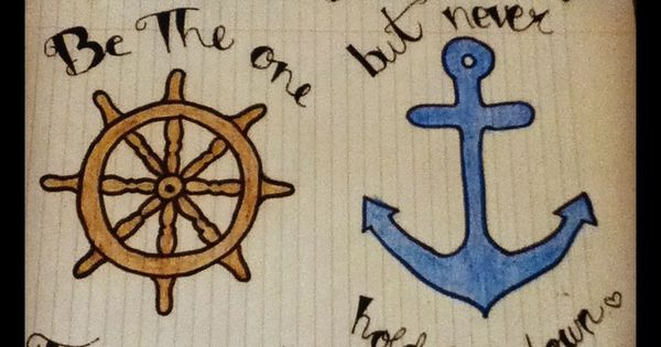 Drawn quote anchor Doodles & love anchor love