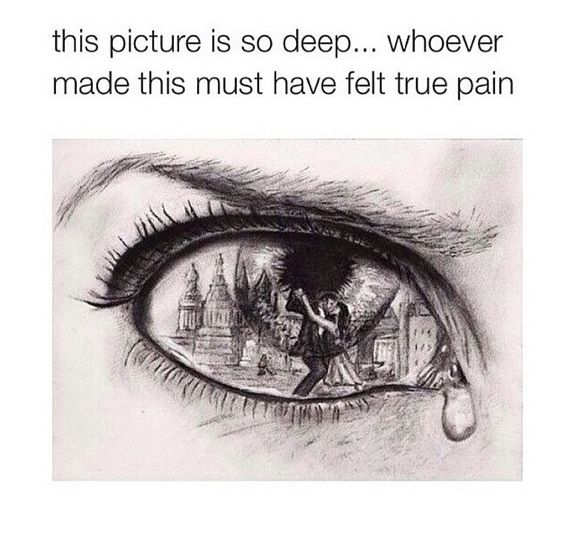Drawn quote artsy Best Drawings Deep Quote drawing