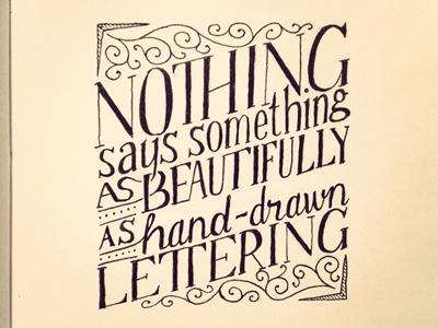 Drawn quote beautifully Something Says  Drawn Something
