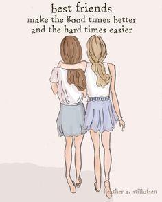 Drawn quote best friend · drawing Yahoo bffs best