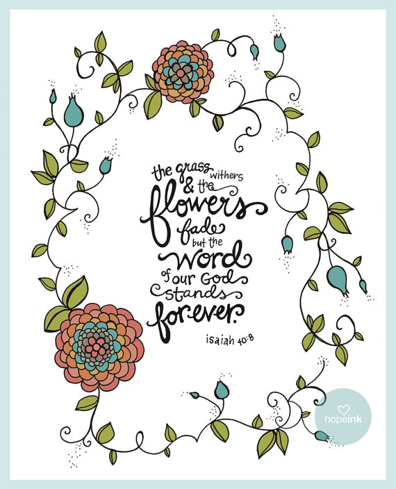 Drawn quote bible Etsy hopeink Drawn Bible Scripture